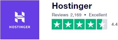 تقييم شركة هوستينجر بحسب trustpilot.com